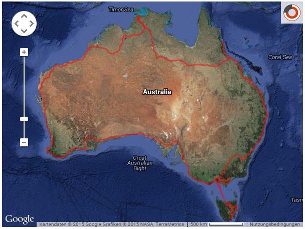GPS Live Tracking Karte complete